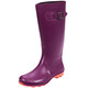 Kamik Olivia Rubber Boots Women Plum